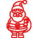 XMas Trees Glasgow Santa Claus